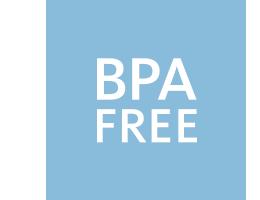 BPA free blue2 - BABYBJORN - nakładka na deskę sedesową biały/czarny