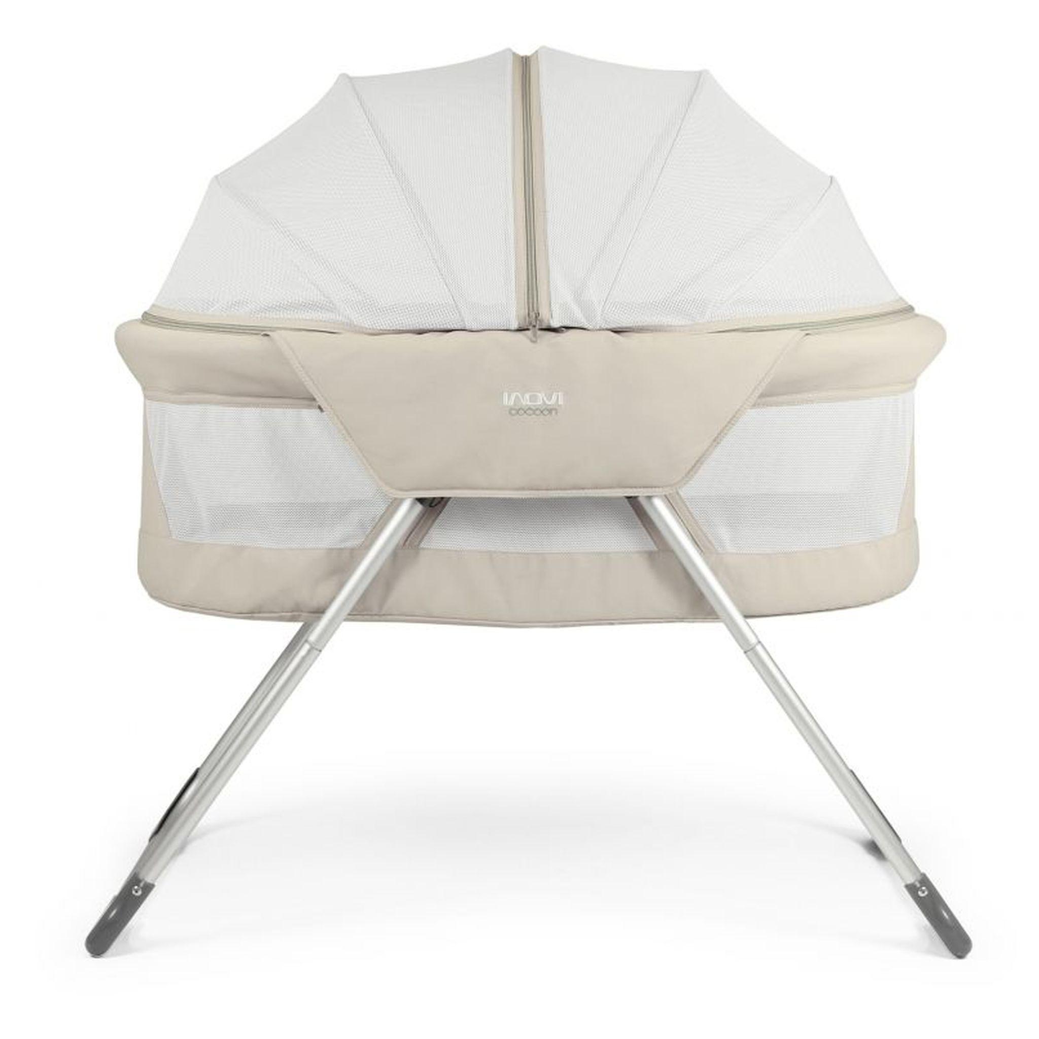 Inovi cocoon bassinet travel cot scandinavian baby