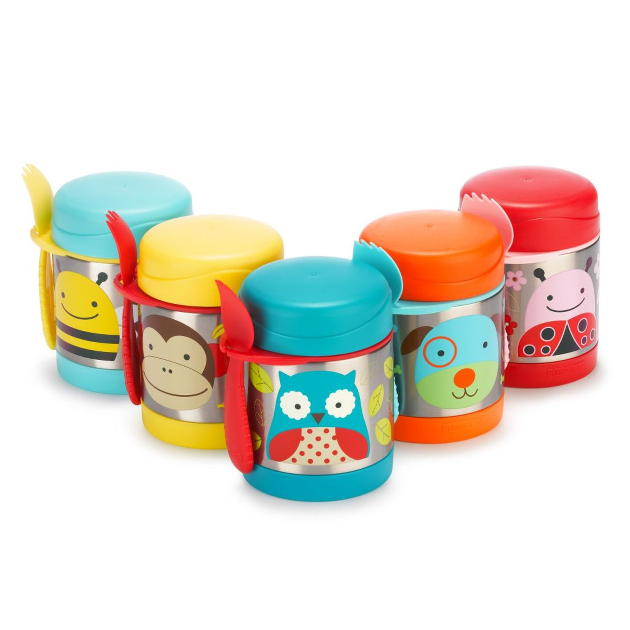 Skip Hop Insulated Food Jar Owl Scandinavian Baby