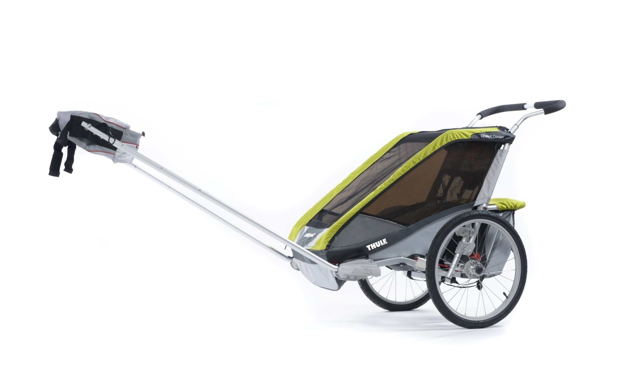 thule chariot cougar 2 avocado scandinavian baby. Black Bedroom Furniture Sets. Home Design Ideas