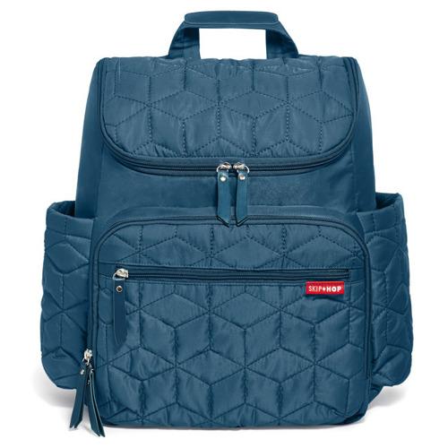 skip hop forma backpack diaper bag peacock 1680. Black Bedroom Furniture Sets. Home Design Ideas